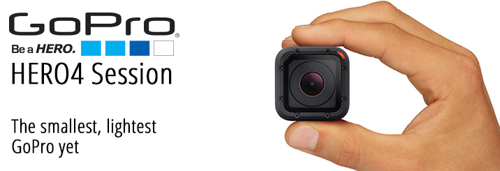 The new GoPro HERO4 Session is here! Pre-Order on July 12th!