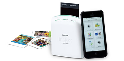 Fuji Instax SHARE Printer - Print photos straight from your phone