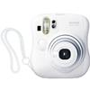 Fujifilm Instax Mini 25 Camera (White) uses Mini Film