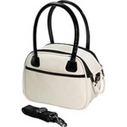 FujiFilm Instax Camera Fashion Bowler Bag (Off White)