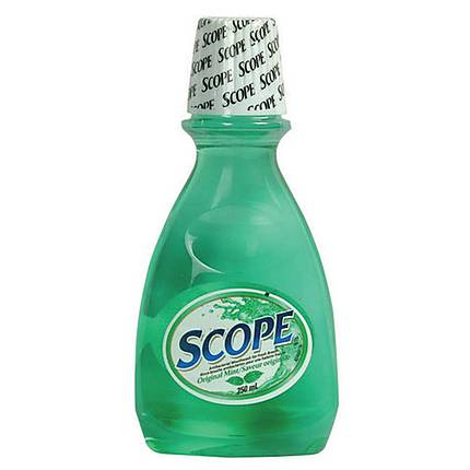 Scope Mouthwash 250ml/8.5oz Original Green Mint