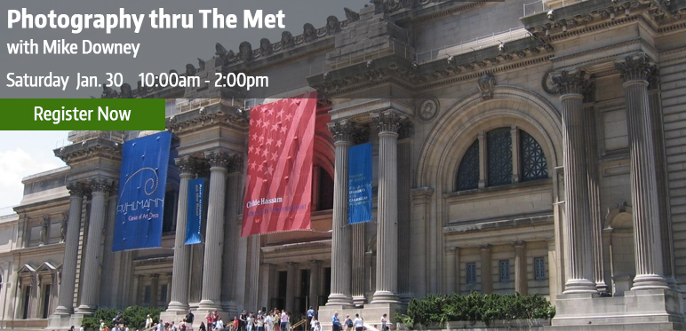 Photography excursion to the Metropolitan Museum of Art with Micael Downey